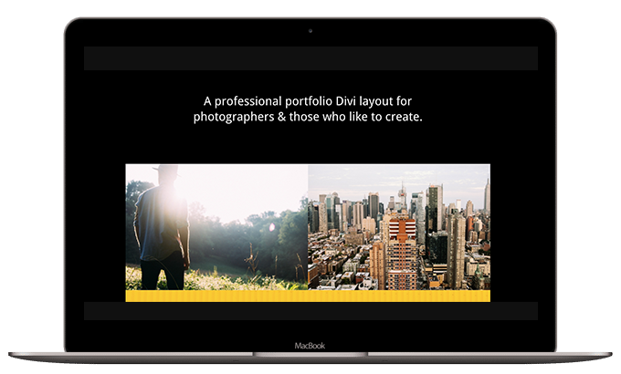 Homepage Portfolio Layout 02