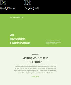 Font 06 – Droid Sans & Droid Serif
