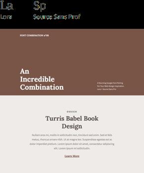 Font 08 – Lora & Source Sans Pro