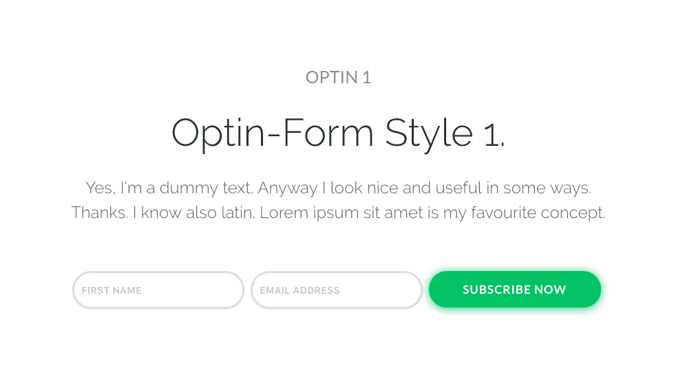 Email Optin Pack 1