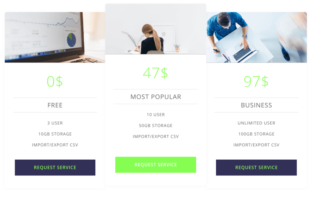 Pricing tables layouts elegant divi layouts - Divi pricing table ...
