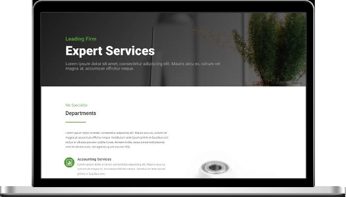 Ekewaka Service Page Layout