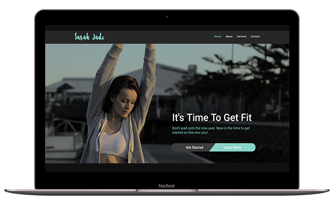 Fitness Layout #1 – Home