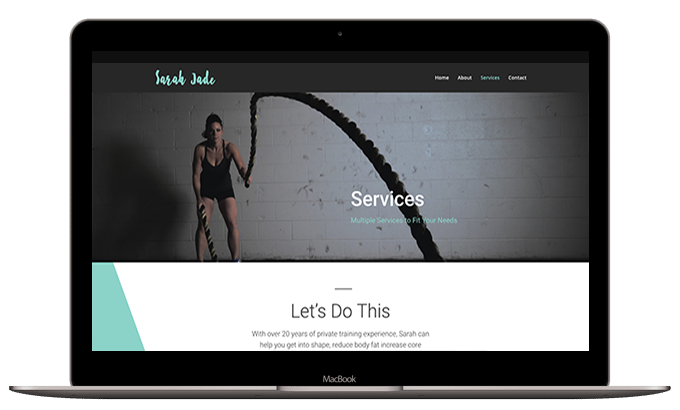 Fitness Layout #1 – Services