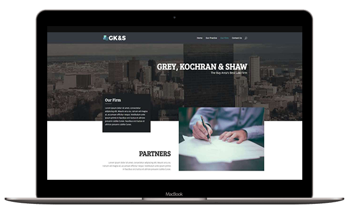 Attorney Layout #1 – Our Firm
