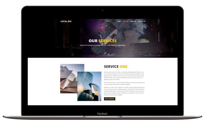 Small Business Layout – Services