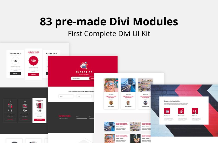 Unicorn Bundle Divi Layout Kit