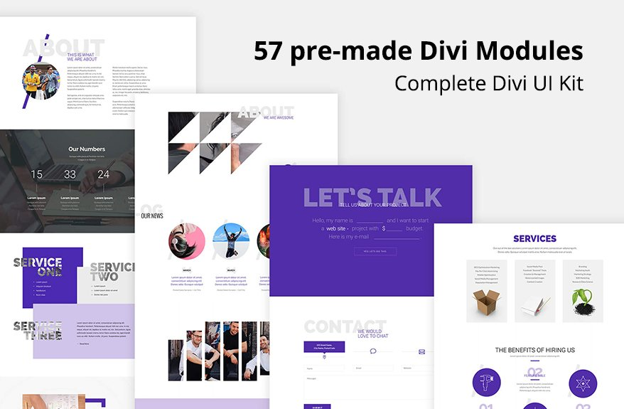 Mermaid Bundle Divi Layout Kit
