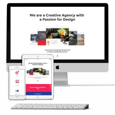 Web Design Studio Layout