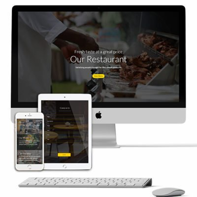 Restaurant Divi Layout
