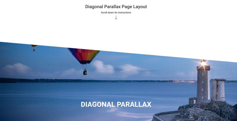 Parallax Feature Overlay Gradient
