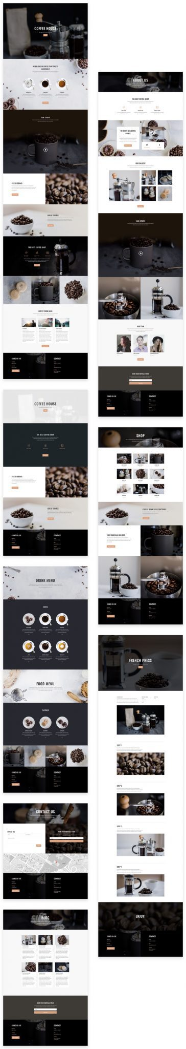 Coffee House Layout Pack