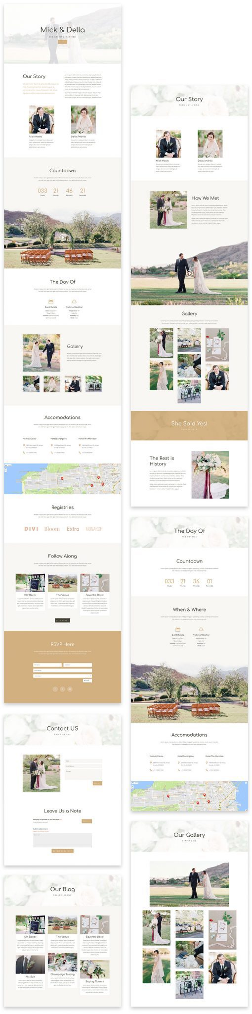 Wedding Layout Pack
