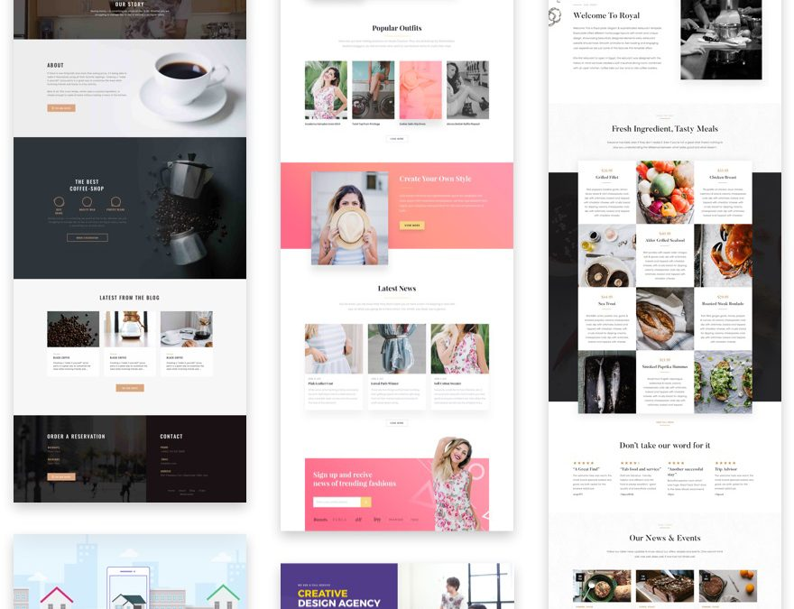 Elegant Themes Tutorial Layouts