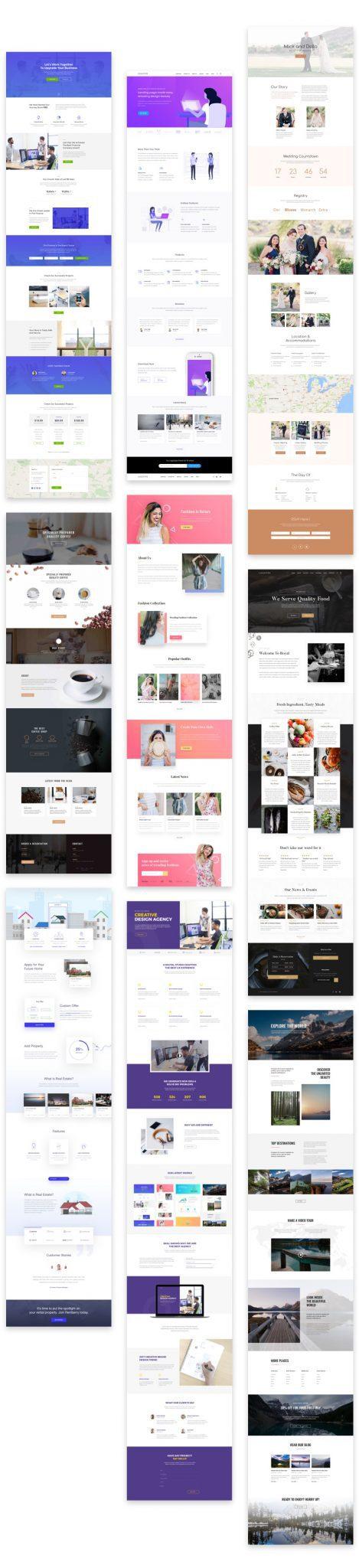 Elegant themes divi layout packs elegant divi layouts - Divi elegant theme ...