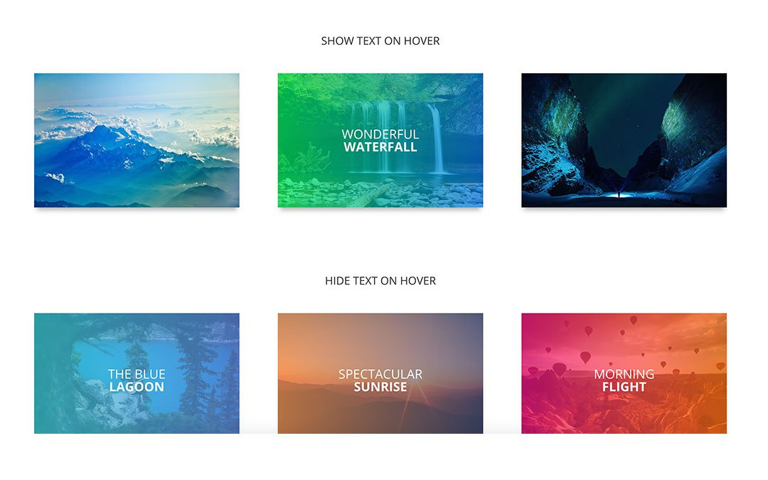 Three Image Hover Effects