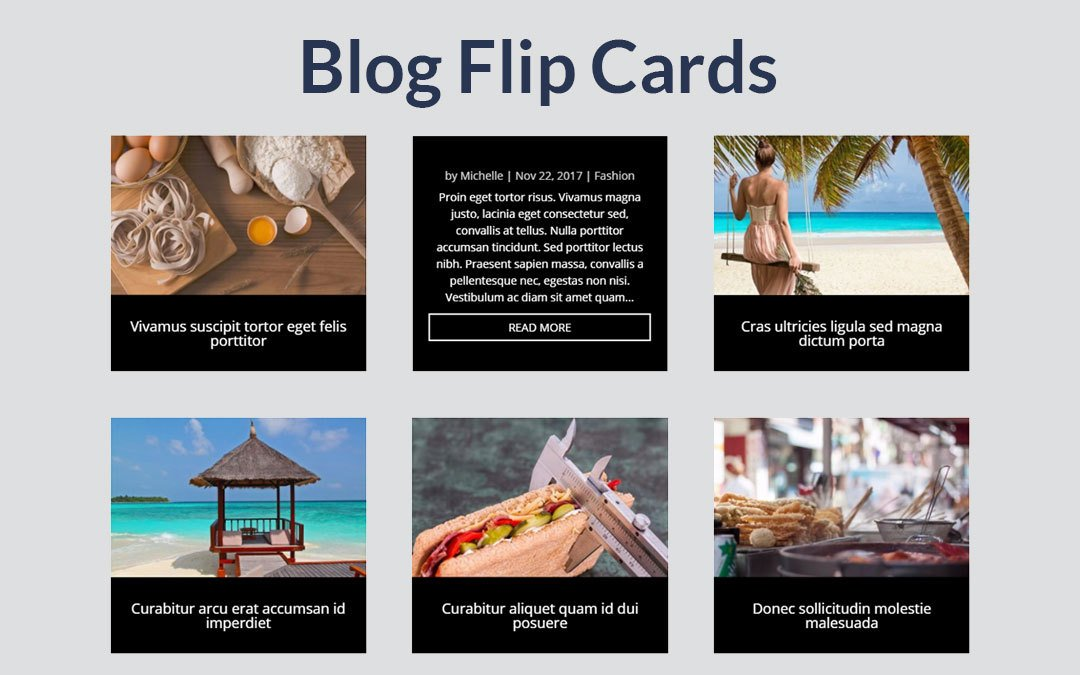 Blog Flip Cards