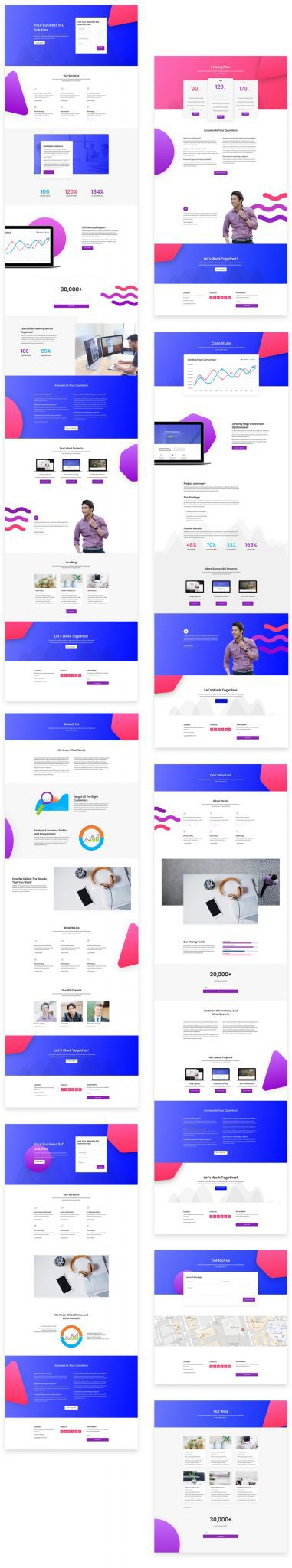 SEO Layout Pack
