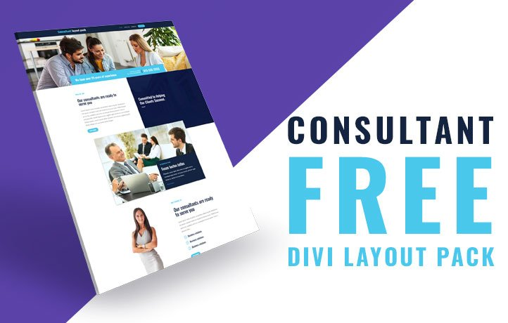 Divi Consultant Layout Pack