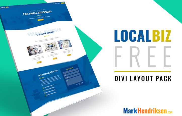 Local Biz Layout Pack