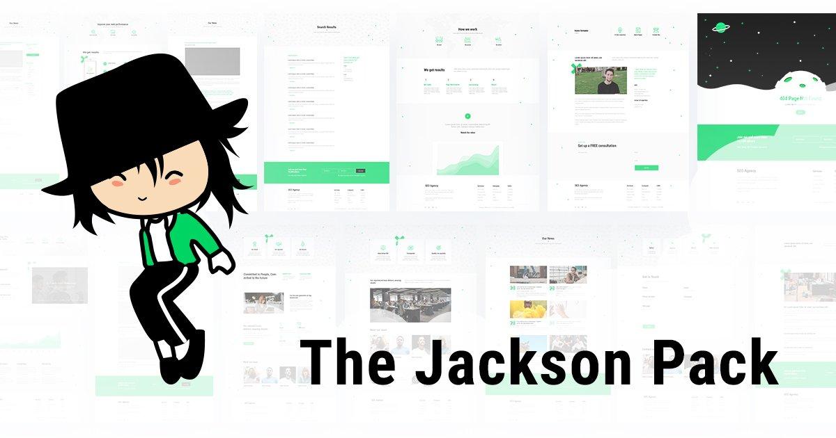 Jackson Divi Layout Pack