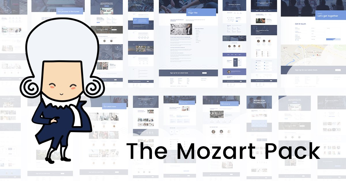 Mozart Divi Layout Pack