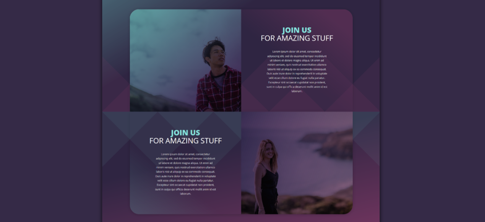 Create Background Textures with Divi's Section Dividers