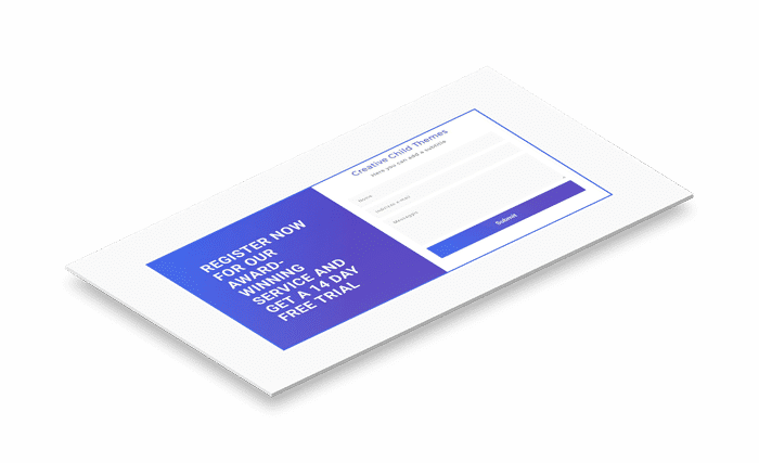 Contact Form Gradient