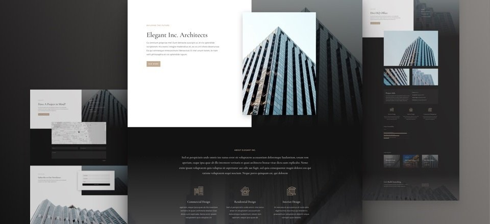 Architecture Layout Pack