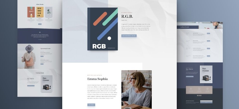 Author Layout Pack