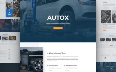 Auto Repair Layout Pack