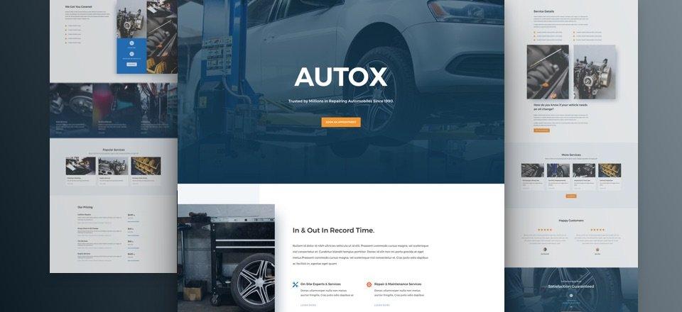 Auto Repair Layout