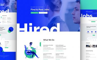 Job Recruiter Layout Pack