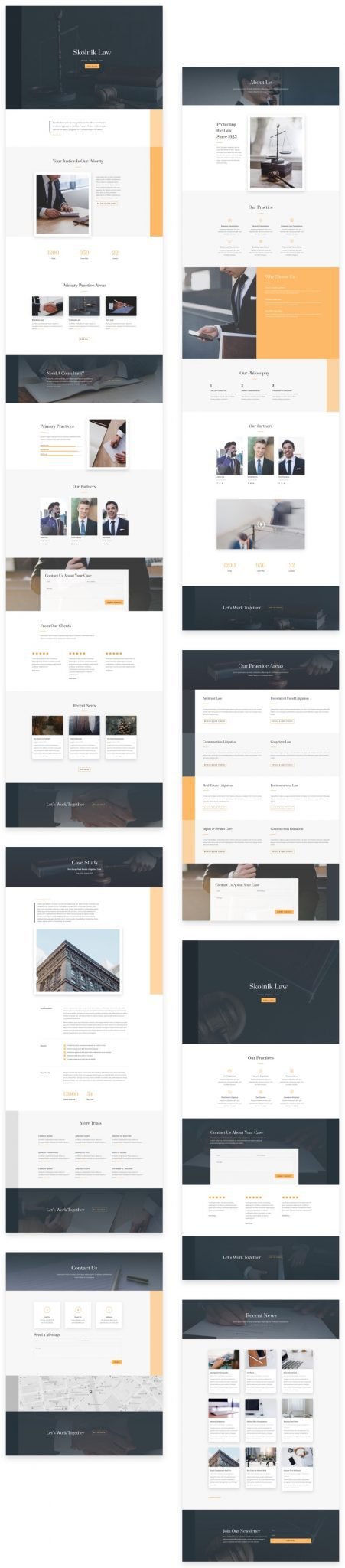 Law Firm Layout Pack