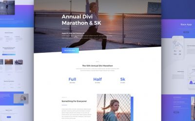 Marathon Layout Pack