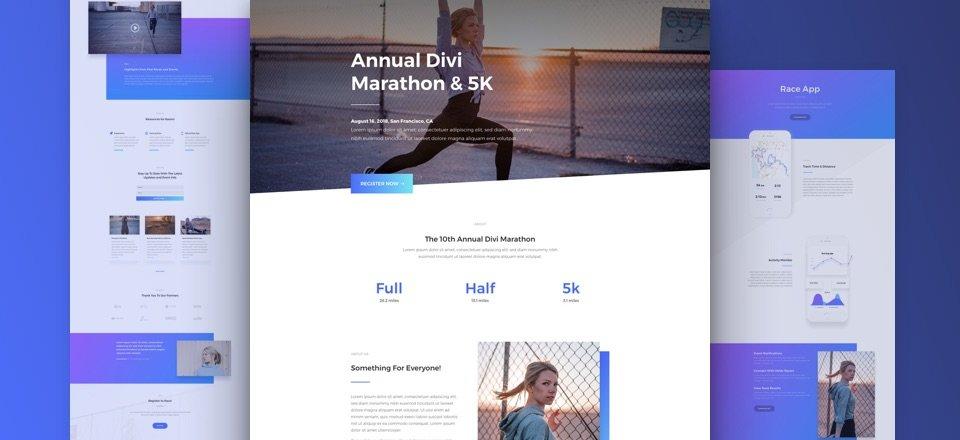 Marathon Layout Pack