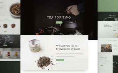Tea Shop Layout Pack