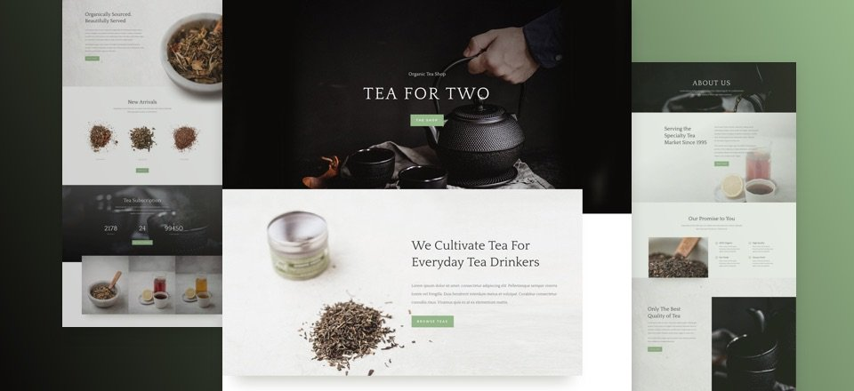 Tea Shop Layout Pack
