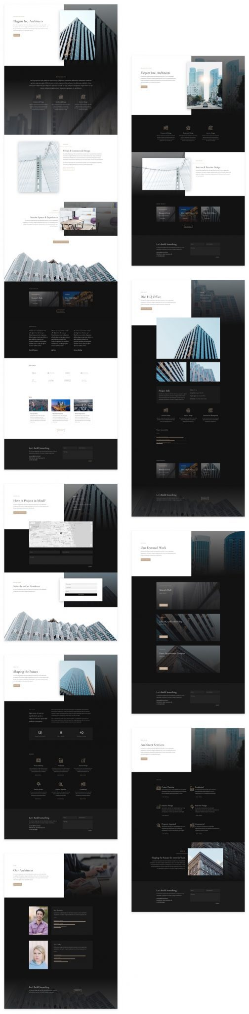 Architecture Firm Layout Pack