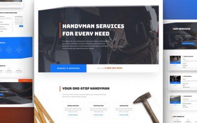 Handyman Layout Pack