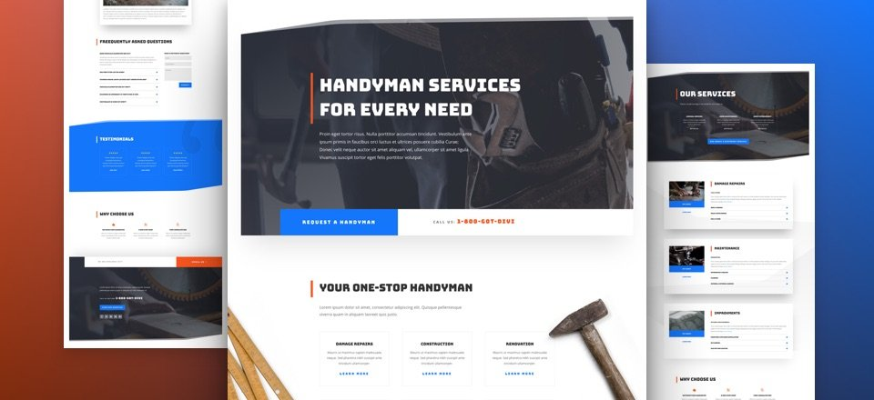 Handyman Layout Pack