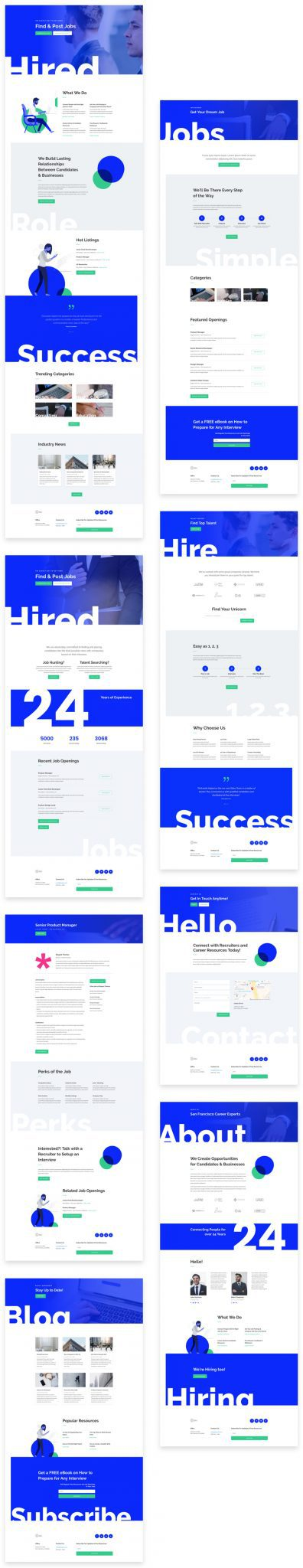 Robotics Divi Layout Pack