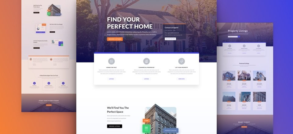 Real Estate Layout Pack