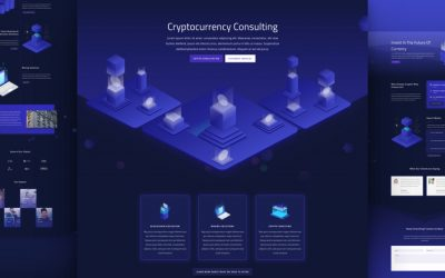 Cryptocurrency Layout Pack
