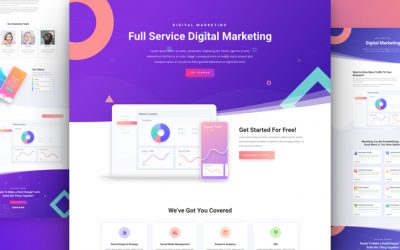 Digital Marketing Layout Pack