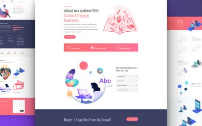 Graphic Illustrator Layout Pack
