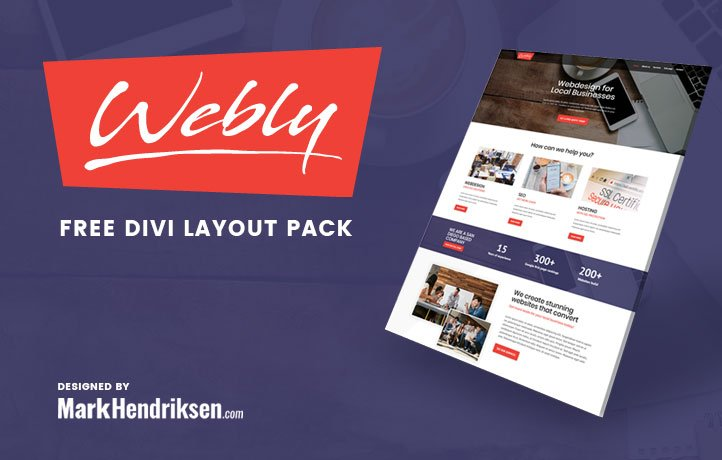 Webly Divi Layout Pack