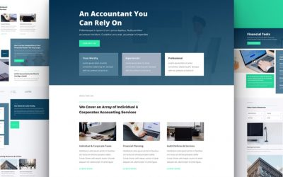 Accountant Layout Pack