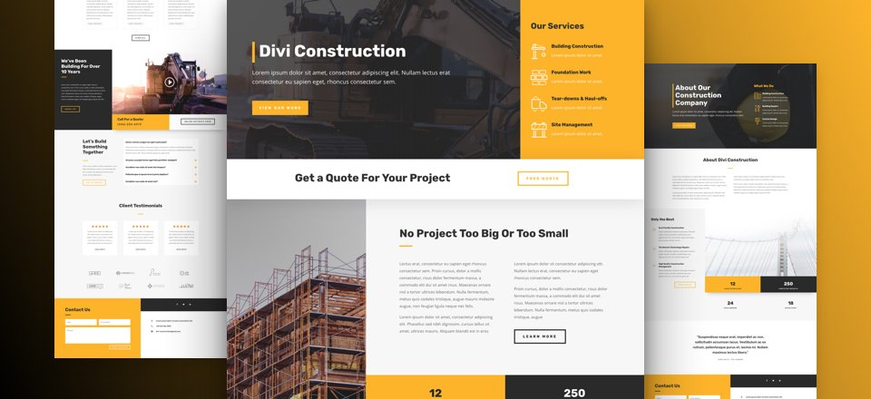 Construction Layout Pack
