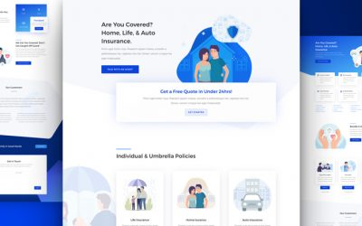 Insurance Agency Layout Pack